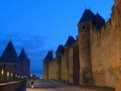 """Who""""s afraid of yellow and blue ... (Carcasonne) by <b>BertKg</b> ( a Panoramio image )"""