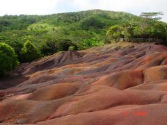 Mauritius, Chamarel, A 7 szinu fold by <b>AVerus</b> ( a Panoramio image )
