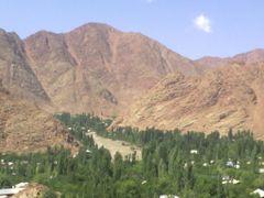 вид на горы by <b>hisrav</b> ( a Panoramio image )