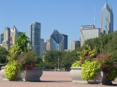 Grant Park - Chicago by <b>Antoine Jasser</b> ( a Panoramio image )