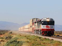 One of the SCT trains nearing Port Augusta and here in action ht by <b>RodWilliams</b> ( a Panoramio image )