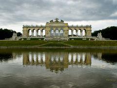 Gloriette in Schonbrunn Palace Garden, Vienna, Austria by <b>GuoJunjun</b> ( a Panoramio image )