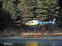 Helicoptero cargando agua (Achiper) by <b>Achiper</b> ( a Panoramio image )