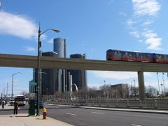 Detroit People Mover by <b>S_Mori</b> ( a Panoramio image )