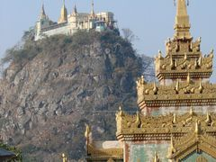 Mount Popa, Taungbaw by <b>picsonthemove</b> ( a Panoramio image )