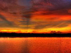 Twilight,Center Of The Image,Gomoti River,Comilla by <b>roymonotosh</b> ( a Panoramio image )