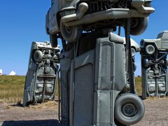 Carhenge, Alliance Nebraska by <b>Gregory Dyer</b> ( a Panoramio image )