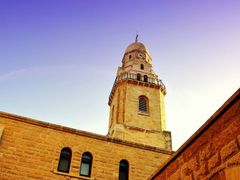 Hagia Maria Sion Abbey, Mt. Zion, Jerusalem by <b>Silverhead</b> ( a Panoramio image )