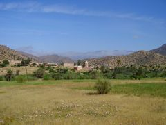 Tafroute Valley by <b>elakramine</b> ( a Panoramio image )