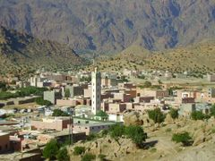 Tafraoute Village by <b>elakramine</b> ( a Panoramio image )