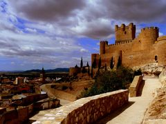 The Atalaya Castle in Villena by <b>janapede</b> ( a Panoramio image )