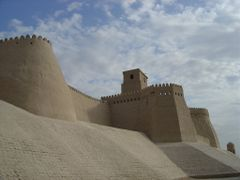 Fortress of Khiwa by <b>Perinic D</b> ( a Panoramio image )