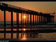 Scripps Pier, La Jolla, California by <b>Elena Omelchenko</b> ( a Panoramio image )