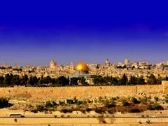 Dome of the Rock, Temple Mount, The Old City, Jerusalem by <b>Silverhead</b> ( a Panoramio image )