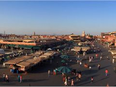 Jemaa el-Fna Square (4 photos) by <b>Maciejk</b> ( a Panoramio image )