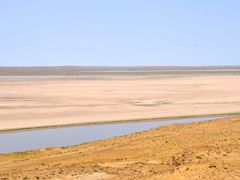 The Amu Darya or Amu River in Uzbekistan. by <b>Nicola e Pina Uzbekistan 2011</b> ( a Panoramio image )