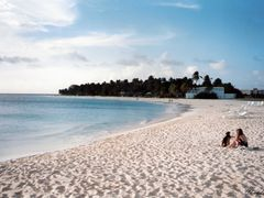 Playa de arenas blancas. Aruba. by <b>©Chaydee</b> ( a Panoramio image )