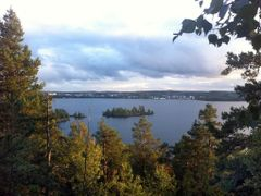 "Tampere - Lake Pyhajarvi Autumn View by <b>Timo""s2</b> ( a Panoramio image )"
