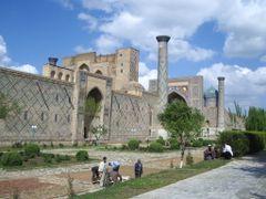 Samarqand - Reghistan by <b>© SisAnnick</b> ( a Panoramio image )