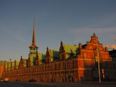 """Evening at the Old Royal Stock Exchange"" - Copenhagen, Denmark  by <b>Jan Sognnes</b> ( a Panoramio image )"