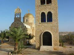 """L""""eglise Ortodoxe Saint Jean-Baptiste sur le site du bapteme de  by <b>David Vaucher</b> ( a Panoramio image )"""