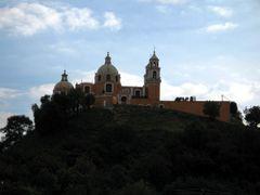 Iglesia del Cerro en Cholula by <b>marcel_pics</b> ( a Panoramio image )