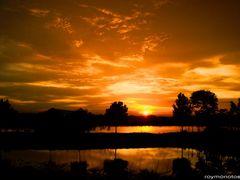 Autumn Evening Glory For My Friend ??? Renata K. ???  by <b>roymonotosh</b> ( a Panoramio image )