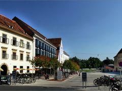 Innere Stadt in Graz by <b>©  Imre Lakat</b> ( a Panoramio image )