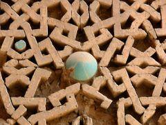 herat_friday_mosque_ghorid_decor by <b>davidadamex</b> ( a Panoramio image )