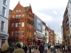 Grafton Street  Dublin by <b>Vivi</b> ( a Panoramio image )