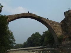 "Aoos"" bridge at Konitsa by <b>Alexis Gl.</b> ( a Panoramio image )"