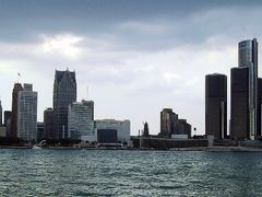 Detroit Skyline by <b>© Kojak</b> ( a Panoramio image )