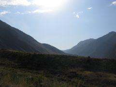 Aksu valley near Mashalyan ravine, view W by <b>igor_alay_2</b> ( a Panoramio image )