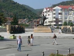 Strumica - centar - pametnik Goce Delchev by <b>stoyan borisov</b> ( a Panoramio image )