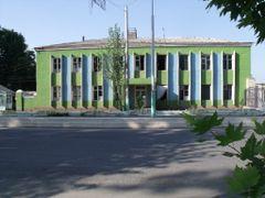 Узбекистан. Райцентр Пап. Районная больница. by <b>рифкат</b> ( a Panoramio image )