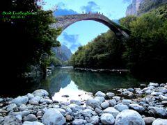 Konitsa,Bridge over Aoos River by <b>HerrWild</b> ( a Panoramio image )