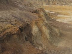 The Rugged Desert Landscape In Horseshoe Canyon Near Drumheller  by <b>David Cure-Hryciuk</b> ( a Panoramio image )