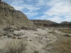Desert Rocks And Blue Sky With Wispy Clouds Above During Unseaso by <b>David Cure-Hryciuk</b> ( a Panoramio image )