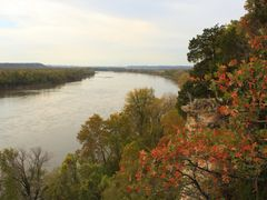 Lewis and Clark Trail over the Missouri River by <b>Scott Rackers</b> ( a Panoramio image )