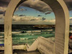 Stormy weather in Monastir by <b>olafju</b> ( a Panoramio image )