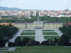 Becs, Schonbrunn by <b>H. Hajni</b> ( a Panoramio image )