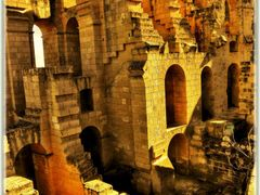 Amphitheater in El Djem by <b>birgitju</b> ( a Panoramio image )