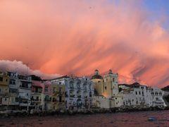 Magic Moment..... Ischia Ponte by <b>© Wim</b> ( a Panoramio image )
