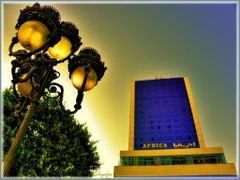 Hotel Africa in Tunis by <b>birgitju</b> ( a Panoramio image )
