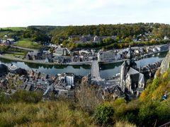 Panoramic view - Dinant by <b>Knossel</b> ( a Panoramio image )