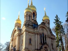 -Wiesbaden-Neroberg. --St.Elizabeth Church-- by <b>Kyriakos  11</b> ( a Panoramio image )