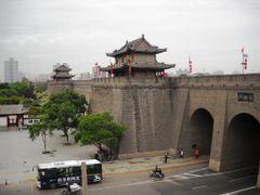 Xian city wall by <b>Dr.Azzouqa</b> ( a Panoramio image )
