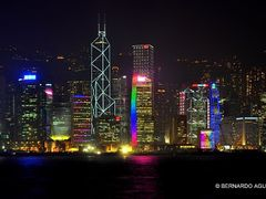 Colors of the Night, Hong Kong  ?? by <b>Silverhead</b> ( a Panoramio image )