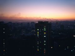 Big City Lights of Pyongyang by <b>zerega</b> ( a Panoramio image )