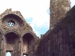 Inseide the Abbey at Cashel by <b>AlexMatos</b> ( a Panoramio image )